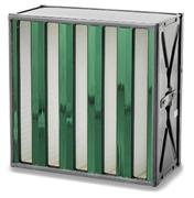 Camfili Sofilair Green on efektiivne tahkete osakeste elimineerimise filter. Klaaskiudpaberist filtri materjal on ideaalne lõplikuks filtratsiooniks. Kombineerituna plastikust raamiga on filter täielikult tuhastatav.